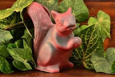 Niloak Pottery Squirrel Planter